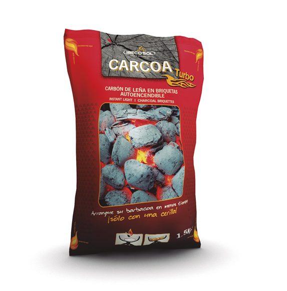 Briquetas CARCOA turbo 1'5kg. Ibecosol