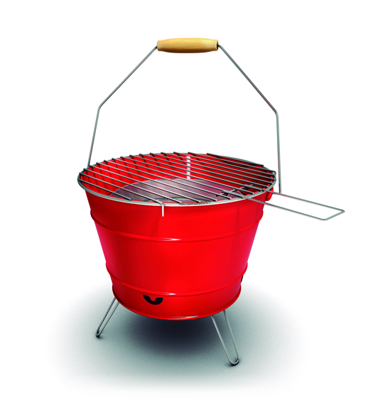 Bucket BBQ Portátil Carcoa. Ibecosol