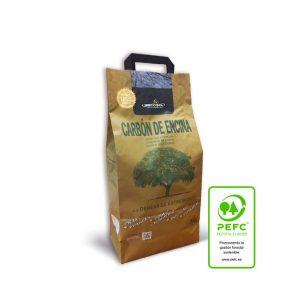 Carcoa holm oak wood charcoal 3Kg.