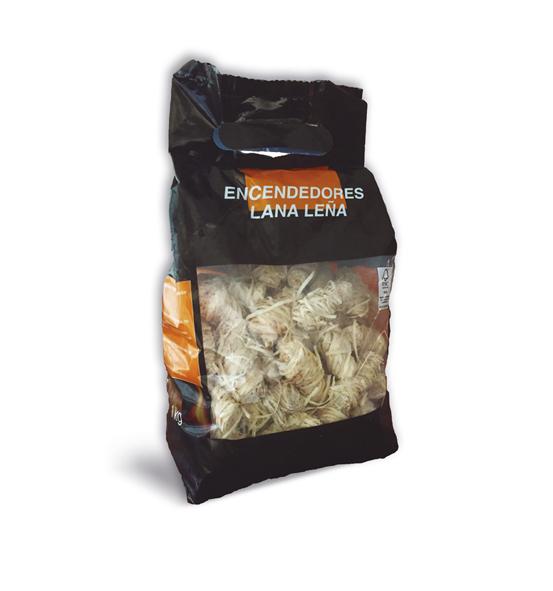 Pastillas de Encendido Lana de Leña 1kg. Ibecosol