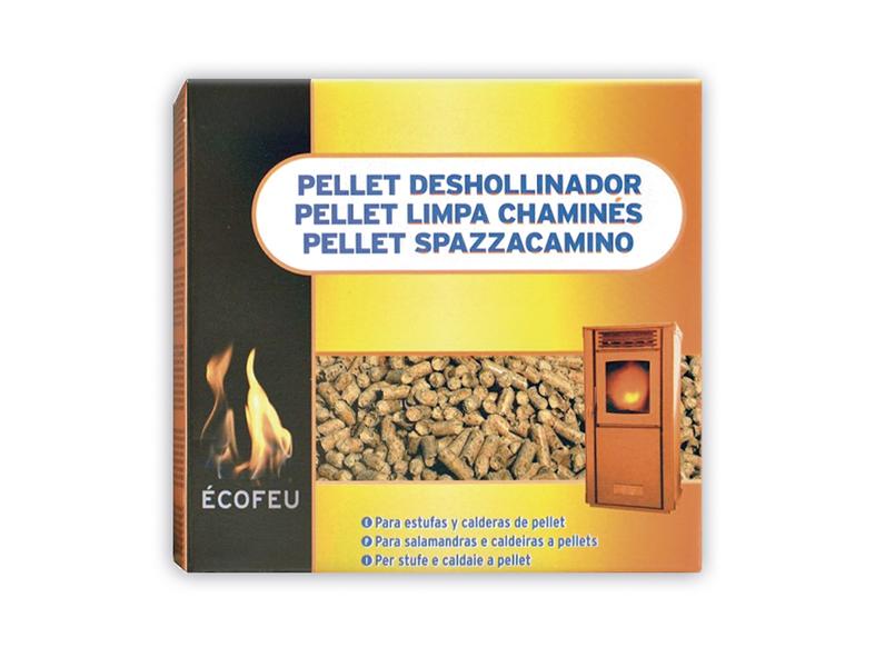Deshollinador para estufas y calderas de pellet. Ibecosol