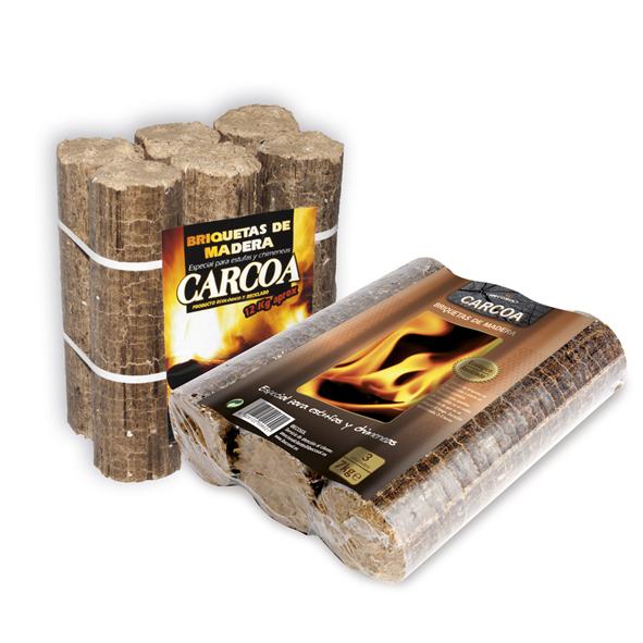 Briquetas de Madera especial para estufas y chimeneas. Ibecosol
