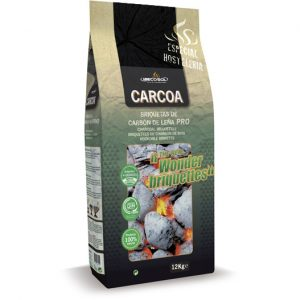 """Briquetas Carcoa """"Wonderbriquettes"""" 12 Kg."""