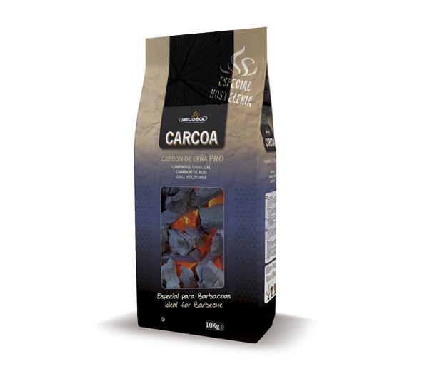 Carbón de Leña Pro 10kg. Ibecosol