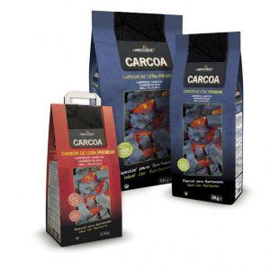 Premium Carcoa-Holzkohle 2,5 Kg. / 3 Kg. / 5 Kg.